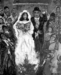 mariage juif by karol adler