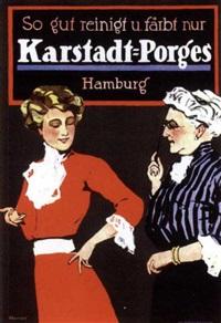 karstadt-porges by friedrich carl georg (fritz) rumpf
