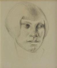female portrait by kenneth miller adams