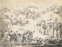 projet pour la chinea de 1744 by louis joseph le lorrain