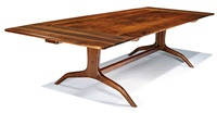 dining table and chairs (9) by sam maloof