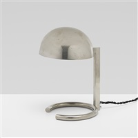 table lamp, model 407 by jacques adnet