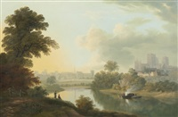 view of the city of york by john glover
