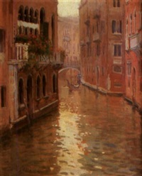 canal de venecia by francisco serra