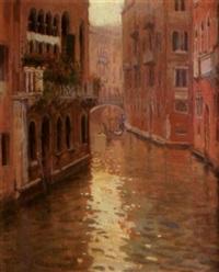 canal de venecia by francisco serra