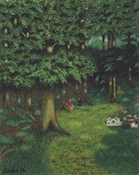le déjeuner sous les arbres by camille bombois