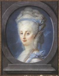portrait de mme. de ladoucette by françois senemont