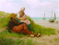 the dutch fisherman's family awaiting the return of the fleet by edith hume