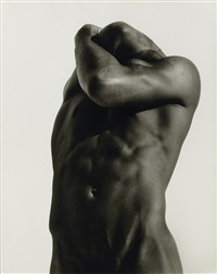 headless male nude, front view, hollywood by herb ritts