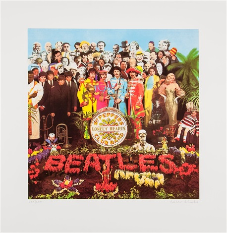 sgt pepper by peter blake