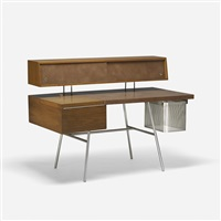 home office desk, model 4658 by george nelson & associates