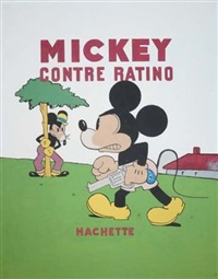 couverture de l'album mickey contre ratino (cover) by walt disney