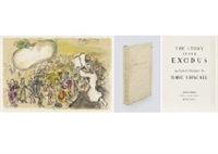 the story of the exodus (portfolio of 24) by marc chagall
