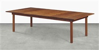 dining table by donald judd