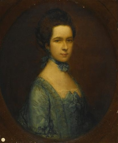 portrait of miss eleanor hobson by thomas gainsborough