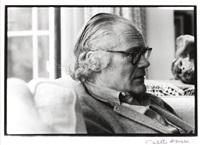 robert lowell (1917-1977, american poet) by judith aronson