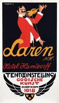 tentoonstelling gooische kunst hotel hamdorff laren by willy sluijter