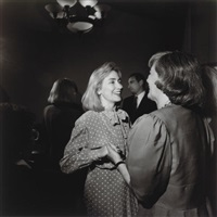 hillary clinton, woman's health conference, washington d.c. by larry fink