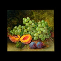 still life with fruit by thomas addison richards