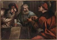 tre figure maschili by pietro muttoni