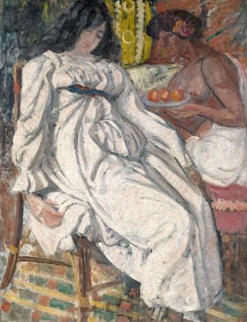 madame et servante noire by jean puy