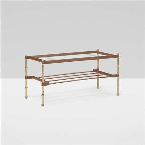 Coffee Table By Jacques Adnet On Artnet