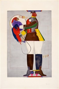 thank you by richard lindner
