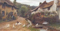 a hasty retreat by frederick george cotman