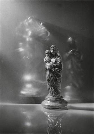 still life madonna and child by josef sudek
