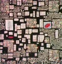 composition lettriste (1987) by roland sabatier