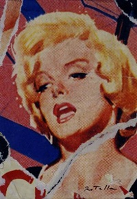 marylin by mimmo rotella