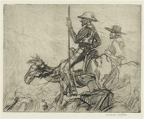 don quixote by edward hopper