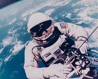 first us spacewalk - ed white's eva over hawaii, gemini 4, 3 june 1965 by james mcdivitt