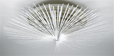 helios ceiling lamp by riccardo blumer