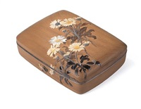covered tebako (cosmetic box) by gyokuzan asahi