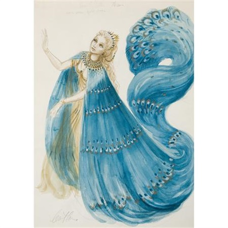 costume design for beverly sills in massenets thais by carl toms