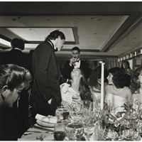 wedding, long central neck, n.y.c. by larry fink