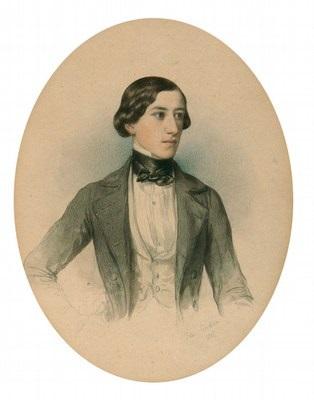 portrait eines jungen mannes by johann nepomuk ender