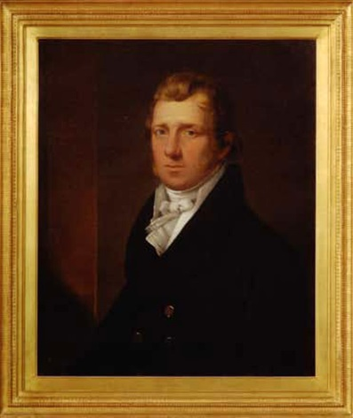 portrait of a sea captain by john trumbull