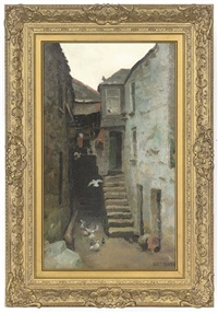 an alley, st. ives by alice maud fanner