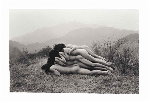 to add a meter to an anonymous mountain by zhang huan