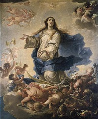 the immaculate conception by francisco de solís