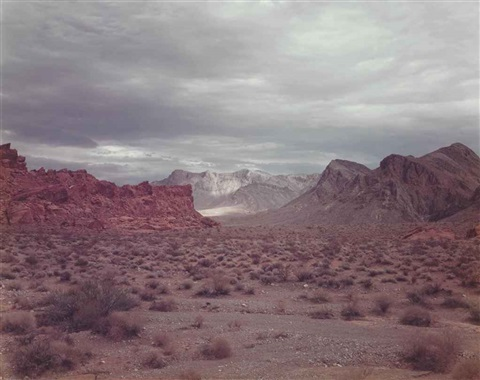 valley of fire nevada by richard misrach