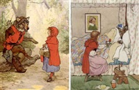 illustrations for nursery rhymes, stories and pictures ( 24 works) by frank adams