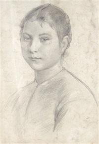 ritratto di ragazza by filadelfo simi