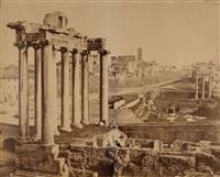 vue du forum, rome by giuseppe ninci