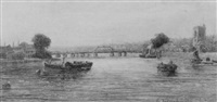 old battersea bridge by george f. buchanan