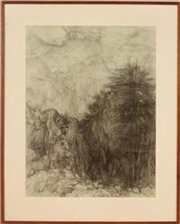 landscape outside of jerusalem by anna ticho
