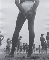 coney island by leon levinstein