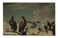 a concert of birds by paul de vos